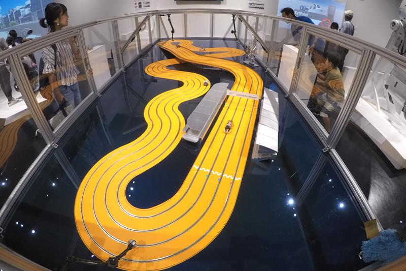 浜松科学館 みらいーら EVサーキット