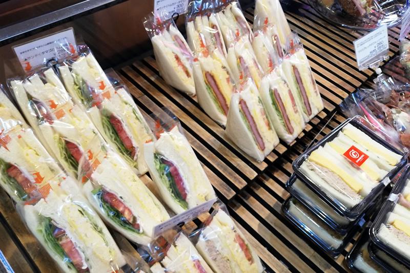 石窯パン工房シャンボール入野店 サンドイッチ
