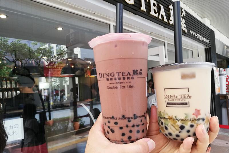 DING TEA(ディンティー)新浜松駅前店 タピオカミルクティー