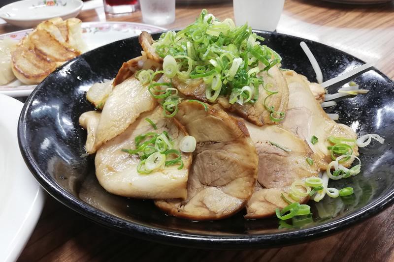 餃子の王将 浜松店 焼豚