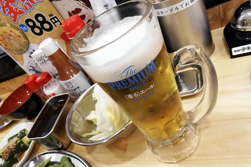 串カツ田中 浜松モール街店 ビール