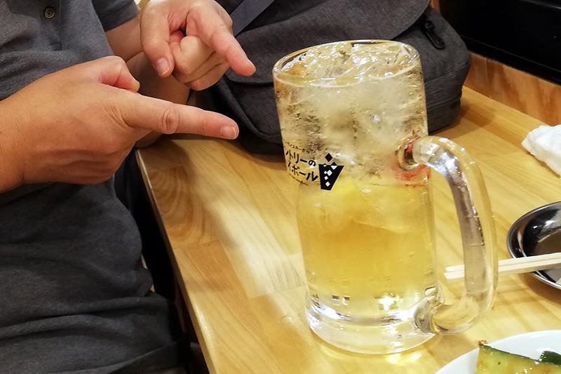 串カツ田中 浜松モール街店 メガハイボール