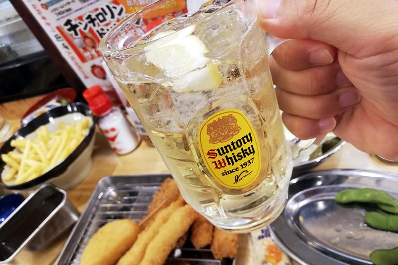 串カツ田中 浜松モール街店 通常ハイボール