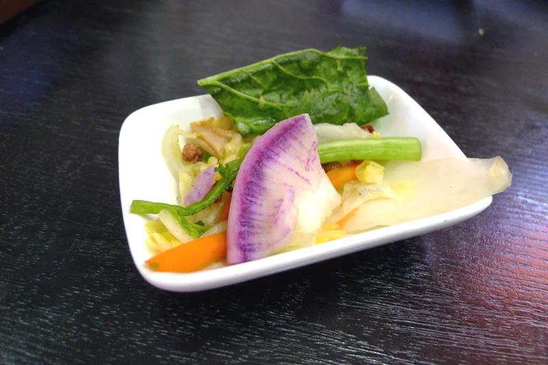 本格新中国料理ムーラン 自家製漬物