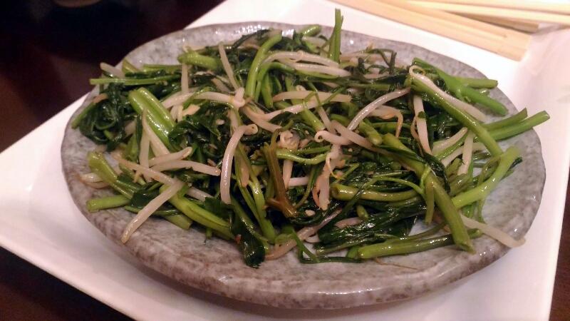 ベトナムキッチン 空芯菜