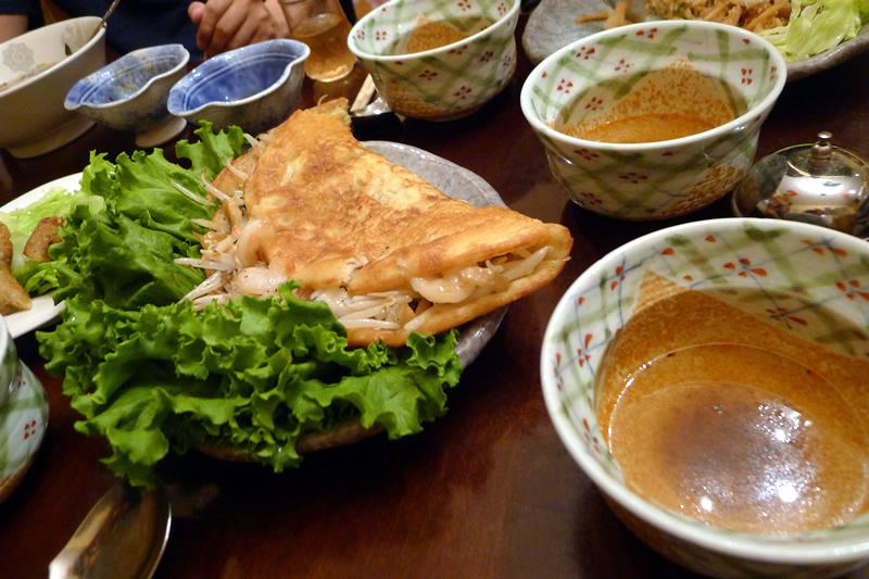ベトナムキッチン バインセオ
