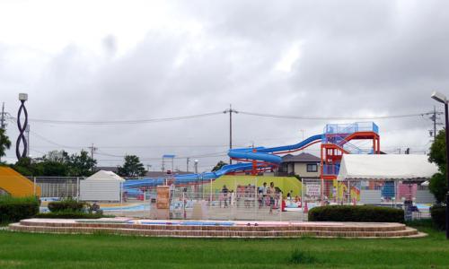 可美公園水泳場 室外プール