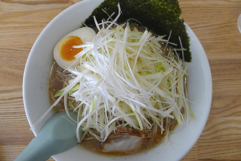 ラーメン三太 醤油ネギラーメン