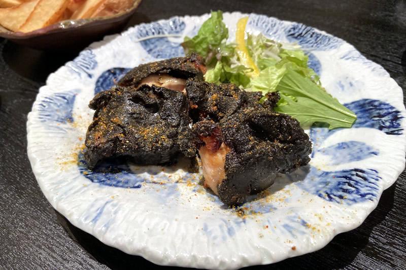 肉料理と大地の恵み ひなた 元祖!黒い唐揚げ